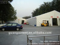 Tent for warehouse or stock with aluminum frames