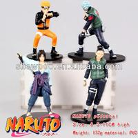 Action Figure Fashion Anime Naruto figure 4pcs a set Wholesale Anime Cos Hot and New Style Naruto Figure
