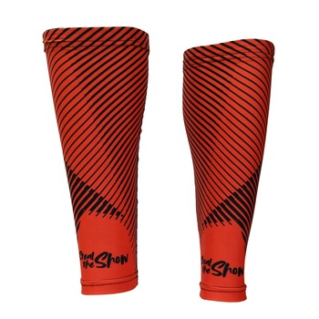 Pure printed Compression Leg sleeves Men running Calf Guard wholesale custom calf sleeve