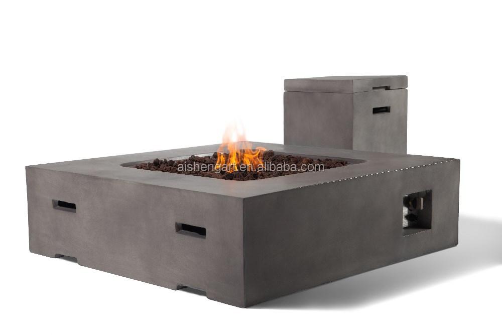 42 quadrat modernen terrasse gas feuerstellen tisch mit tankdeckel feuerstelle produkt id. Black Bedroom Furniture Sets. Home Design Ideas