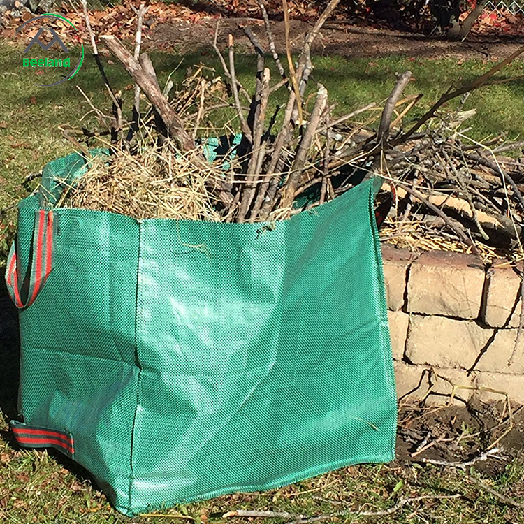 Promotion cheap fold gardening lawn and leaf bag