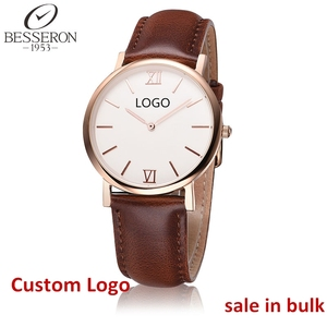 bulk lord timepieces rose gold sw quartz watch leather wholesale steel watch valentine luxury brand watches custom my logo