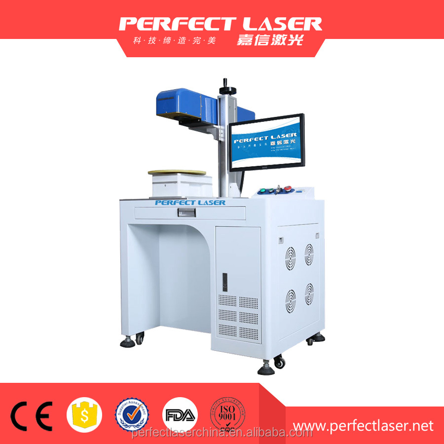 30W flexible multifunction 3D fiber laser marking equipment for medical equipments