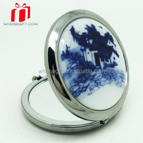 Wholesale Sublimation Blank Cosmetic Mirror/pocket Mirror/make Up Mirror