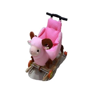Custom 50cm Height animal shape kids baby rocking horse