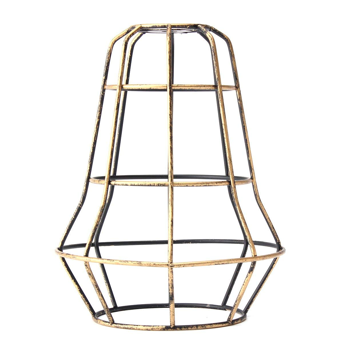 Wincom Dishman LIGHTING ACCESSORIES Vintage Pendant Trouble Light Tower Shape Hanging DIY Lampshade