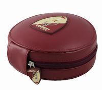 leather CD Holder DVD Case Storage Wallet Disc Organizer