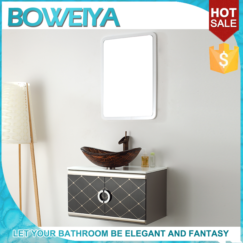 Best Quality Storage Stainless Steel Bathroom Cabinet Mirror Cabinet