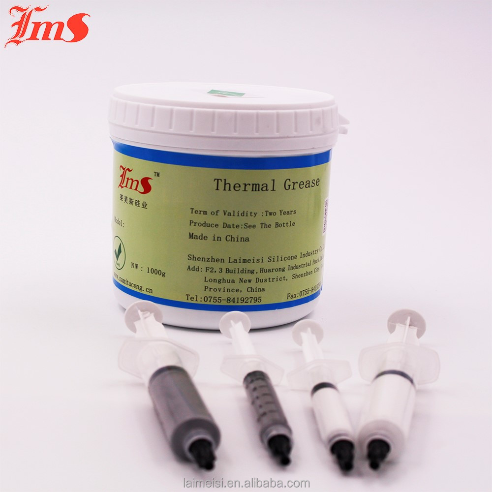 Cheap Price 1.5 w/m.k Conductivity Silicone High Temperature Electrical Thermal Grease