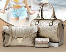 women 3 sets bags 2016 latest women fashion bag bags handbags