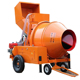 JZM Series portable Self Loading Concrete Mixer machine with Electrical Motor pump