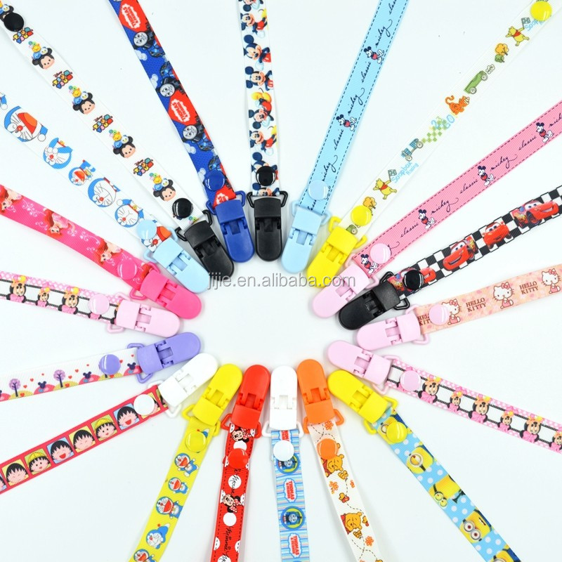 2017 NEW Style Teething Baby Pacifier Holder Cute Pacifier Clips