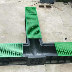 high quality u type linear surface plastic drainage channel
