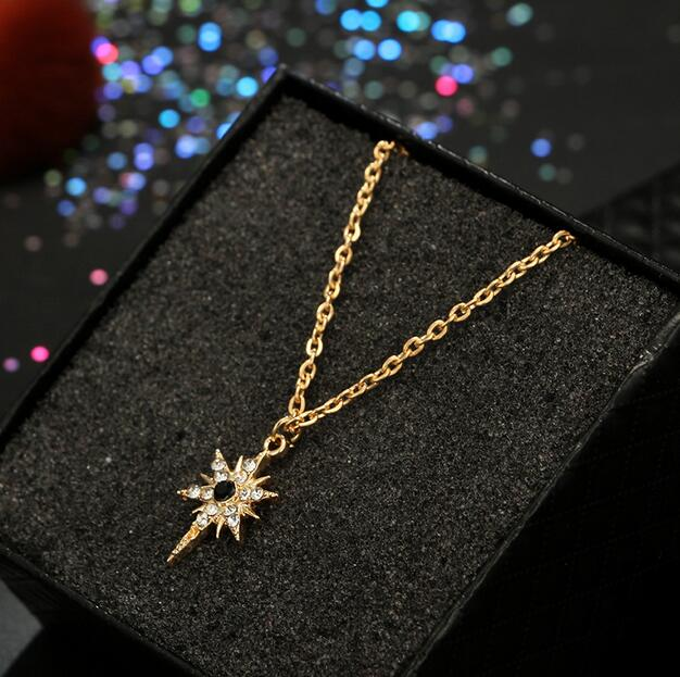 Long Boho Crystal Rhinestone For Women Jewelry Accessories Pendant Necklaces Fashion Jewelry necklace pendant watch