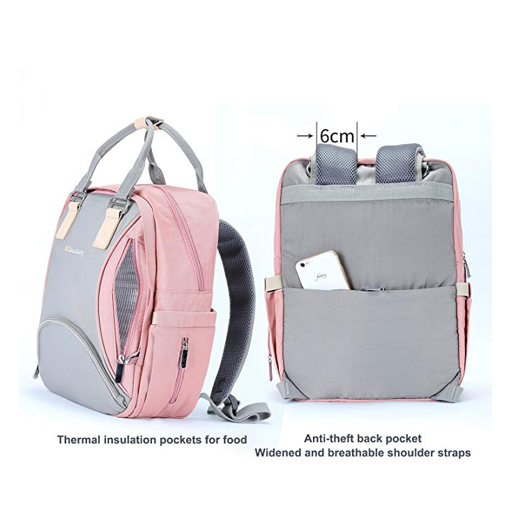 Diaper Bag Backpack-Multi-Function Maternity Nappy Bag Modernas Diaper Bags for Girls