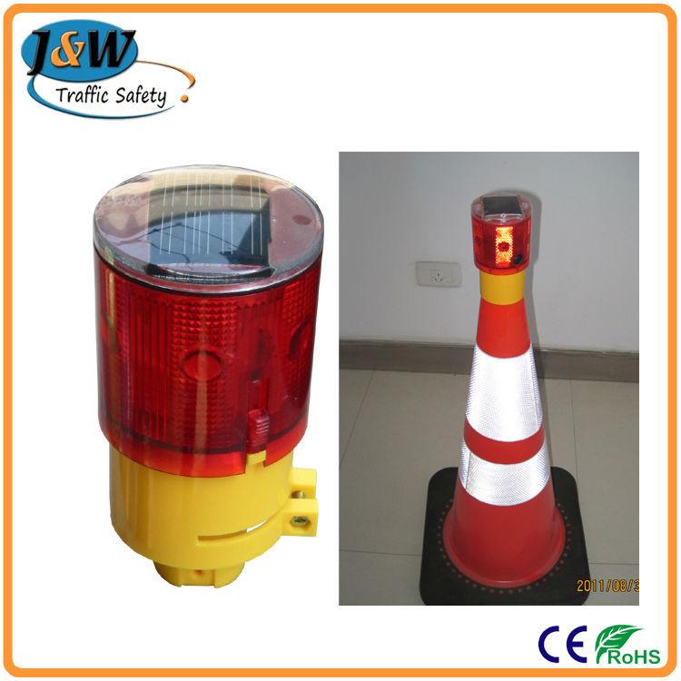 Solar Traffic Cone Lamp,Led Warning Light,Traffic Road Safety ...