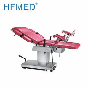 Manual Hydraulic Delivery Bed gynecological surgical operating room instrument tables