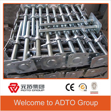 Low price and Durable Scaffolding Galvanized Adjustable Screw Base Jack for africa