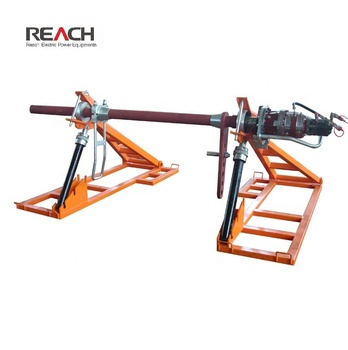 7 Ton Hydraulic Conductor Drum Elevator Drum Reel Stand for Cable Laying Construction