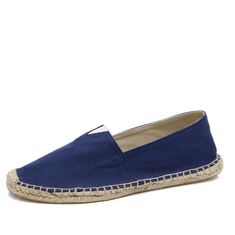 Mens Rope Soled Shoes