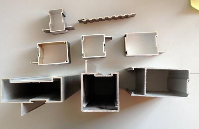 Structural Aluminum Framing / Aluminium Door Profile Extrusion For ...