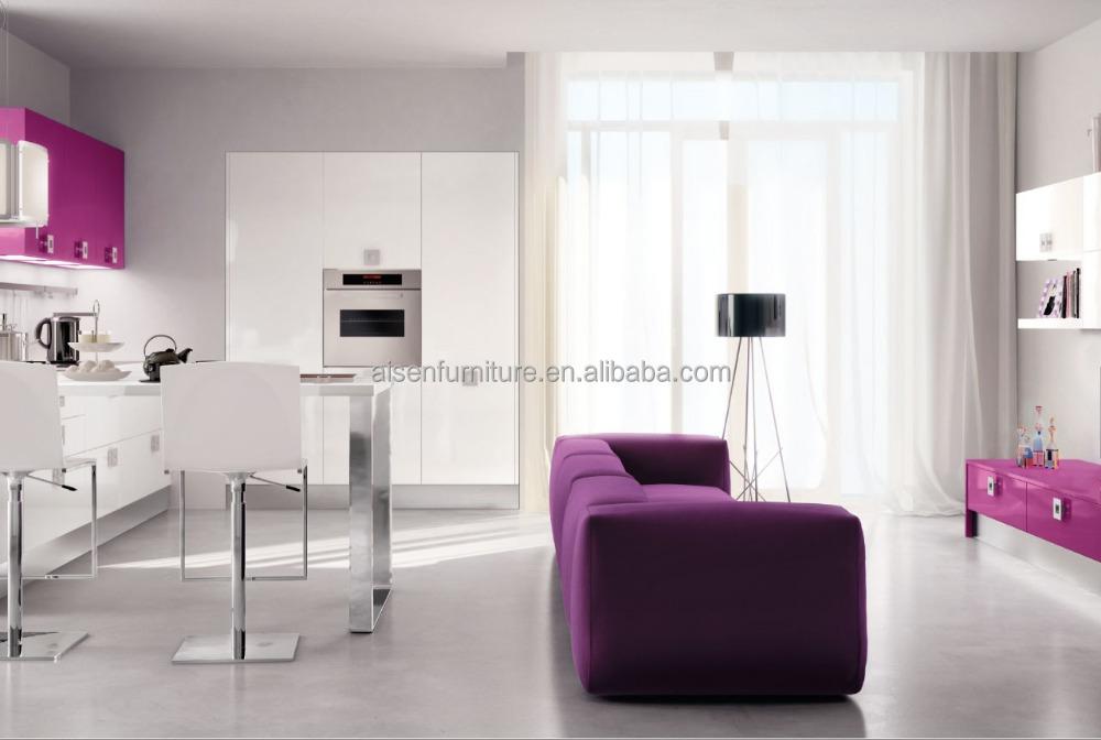 nuevo estilo mixto de cocina armario despensa y modernos muebles de cocina de calidad