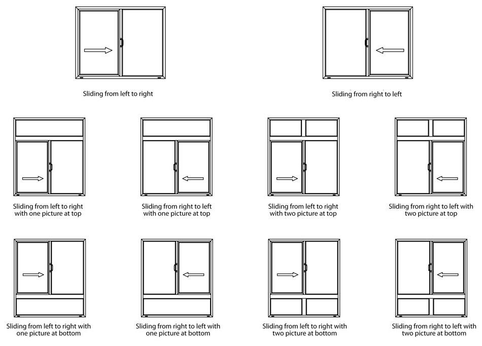 Aluminum Window Grills Design Pictures For Sliding Windows