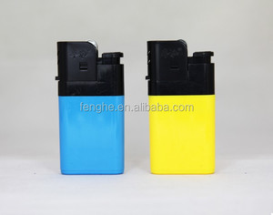 FH-216 disposable OEM big maxi flint cigarette plastic gas factory wholesale BBQ Djeep lighter