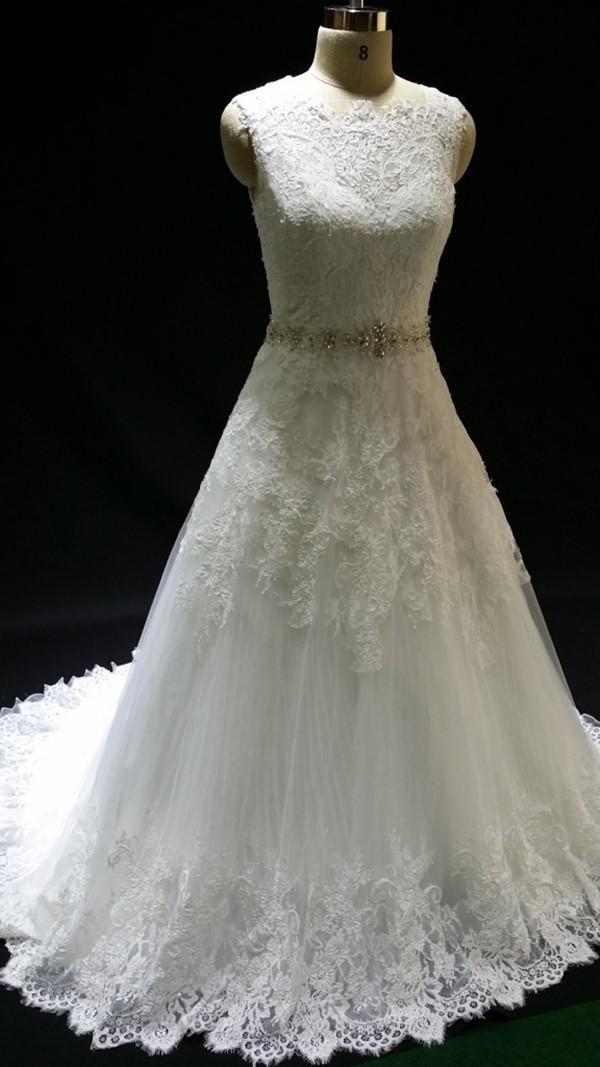 Designer Lace Wedding Gowns Wedding Dress Ball Gown Latest Fashion ...