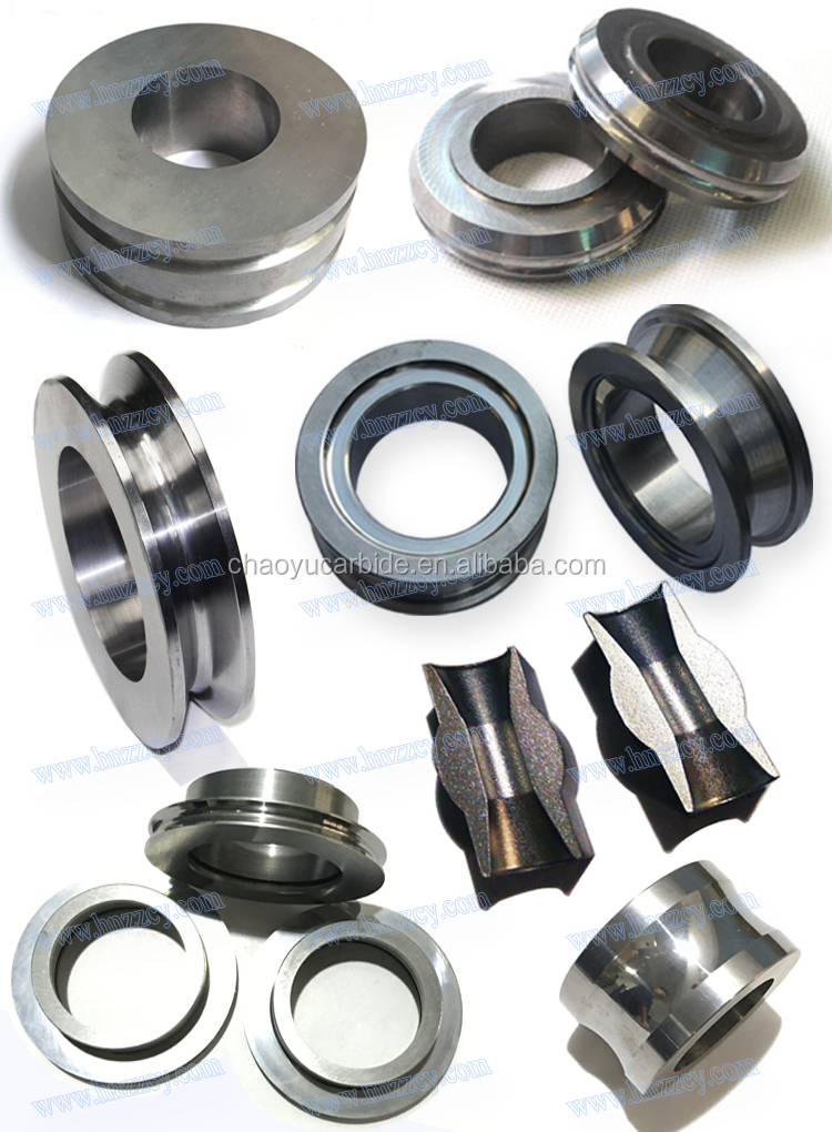 Carbide Rolling Bush For Steel Wire Rolling Cassette Wire Rope Guide ...
