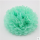 "2017 Newest Tiffany mint green color Craft Paper Ball For Decoration 12"" Tissue Paper Pom Poms Flower Balls Japanese Paper Ball"