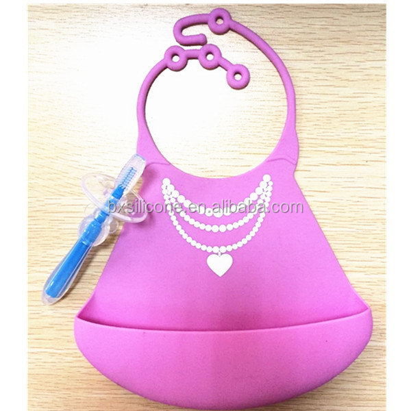 Excellent quality new products fda grade silicone baby bib