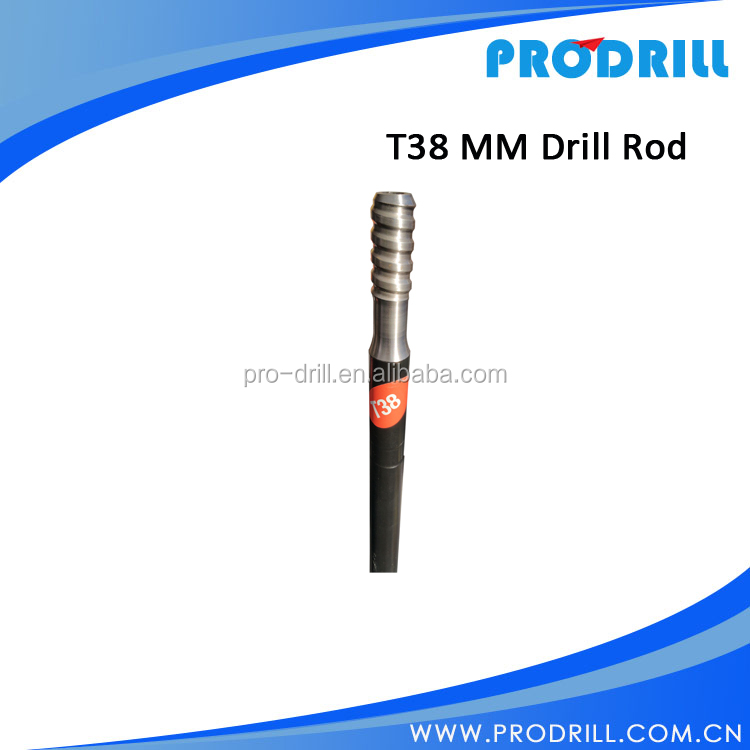T38 MM rod/Threaded Rock Drilling Tools