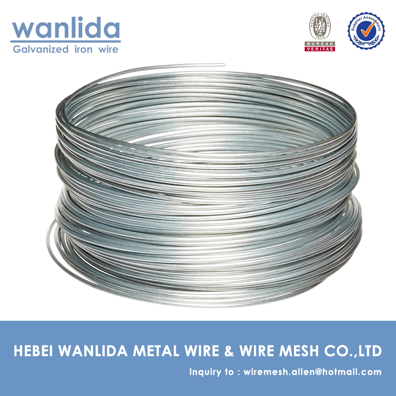 hot dip galvanized wire 4 mm / hot dip galvanized woven wire