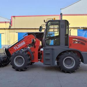 construction machine 2500kg loading Telescopic Wheel Loader HY2500