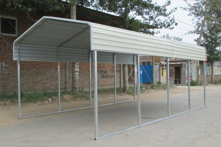 20x30 Metal Carport : Ft metal carport shed view sheds