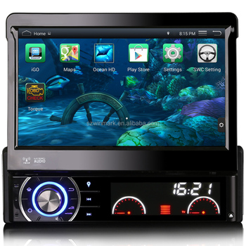 Android4.4 quad-core RK PX3 1.6GHz 7inch 1din universal car DVD player with built-in WiFi,7 colors button light,mirror-link,OBD