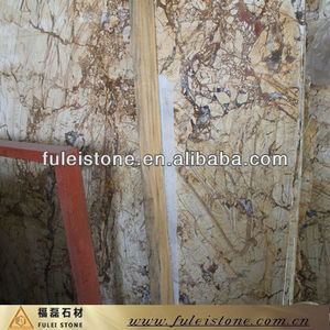 Turkish Natural Stone For Decoration Picasso Gold Marble