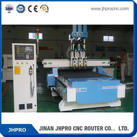Discount price !!Three processes wood/acrylic JH-1325(1300*2500mm)cnc router for pattern making
