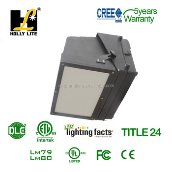 Led Outdoor Wall Pack Fixture With Sensor And Photocell Function ...