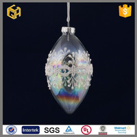 2015 New products stained glass for hanging glass ball decoration