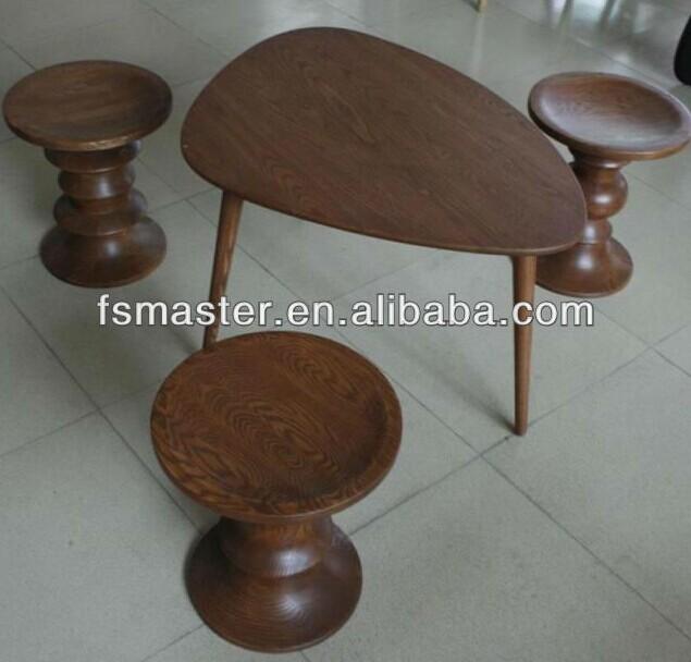 mesa de madera patas caf tringulo mesa de madera de fresno mesa de t
