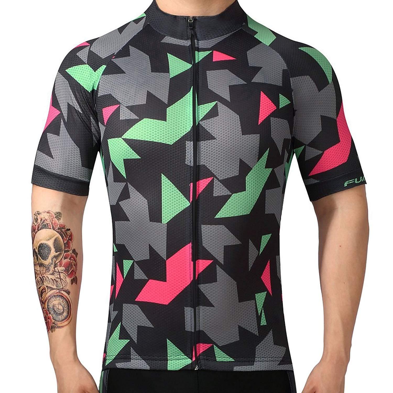 Cycling Jersey Short Clothes Top Mountain Summer Bike Racing Riding Shirt