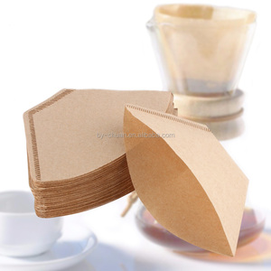 Wooden Original Hand Drip Paper Coffee Filter Espresso Coffee Filter Packs Tea Bag Strainer Green Tea Infuser
