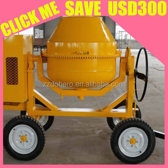 Small Type concrete mixer electric 160l 140l 120l 200l