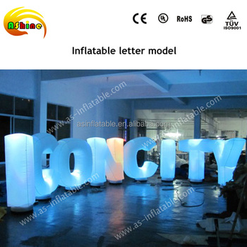 Led Wedding Love Light Letter Giant Inflatable Letters Inflatable
