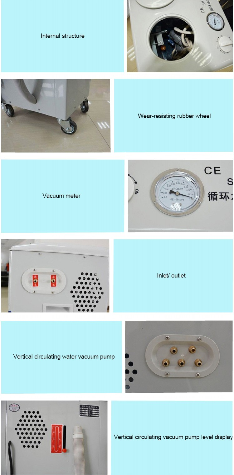 Large capacity SHZ-95B vacuum pump machine with water circulating