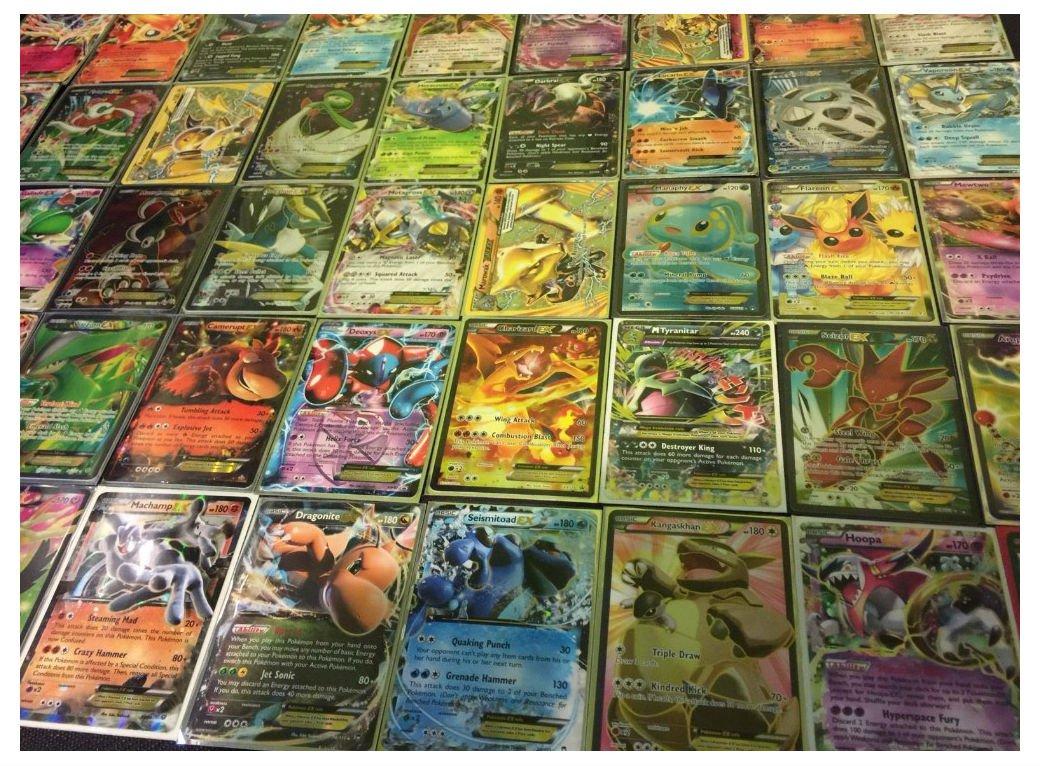 Buy Pokemon Go Pokemon Tcg 100 Card Lot Guaranteed Ex Full