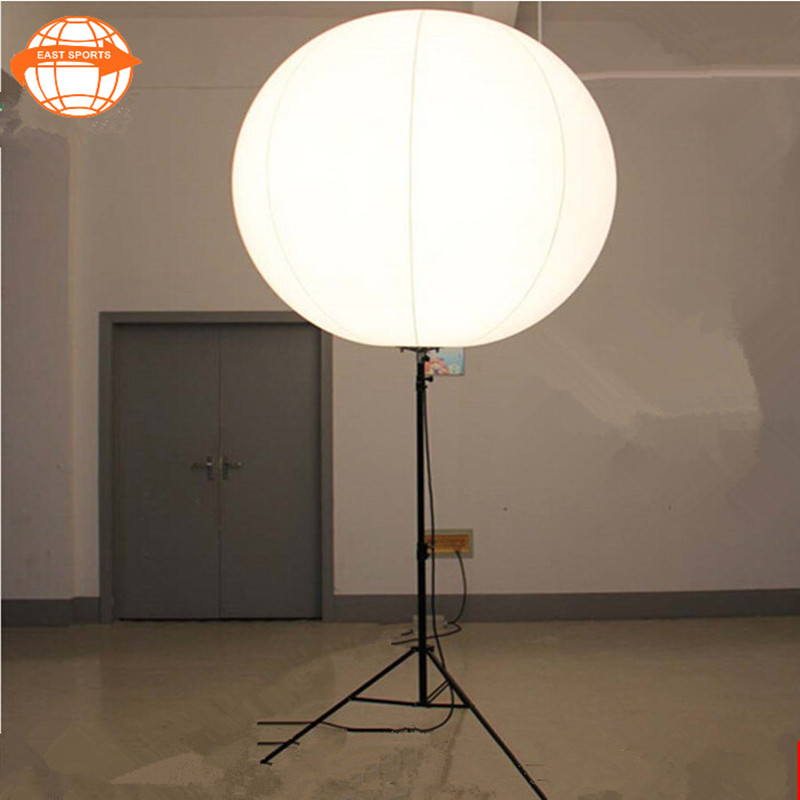 inflatable balloon display column stand/inflatable tripod stand light balloon with 16RGB led light for advertising