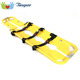 Folding Emergency Medical Patient Transfer Funeral Plastic Scoop Stretcher